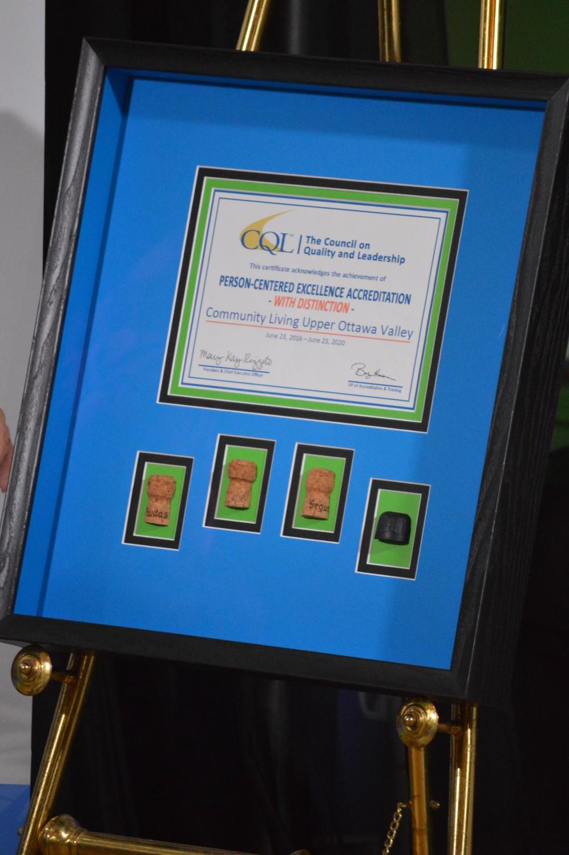 <b>Framed Certificate</b>