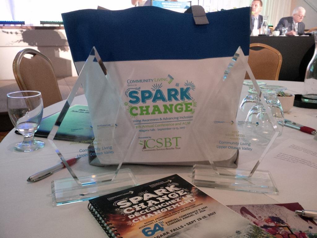 <b>Community Living Upper Ottawa Valley Awards</b>