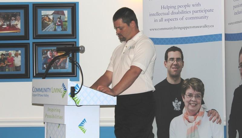 <b>Jeff Shand presenting</b>