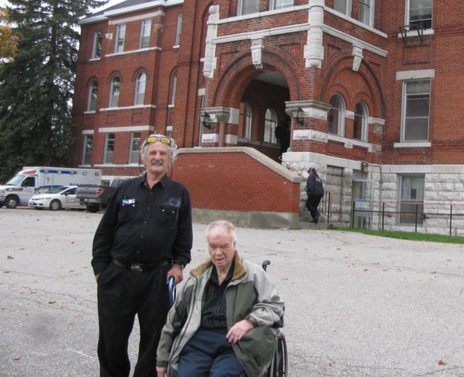 <b>CLUOV's Robert and Ed Visit Huronia</b>