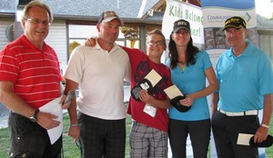 <b>Pink Ball Challenge Winners Lacombe-Grayson Team</b>